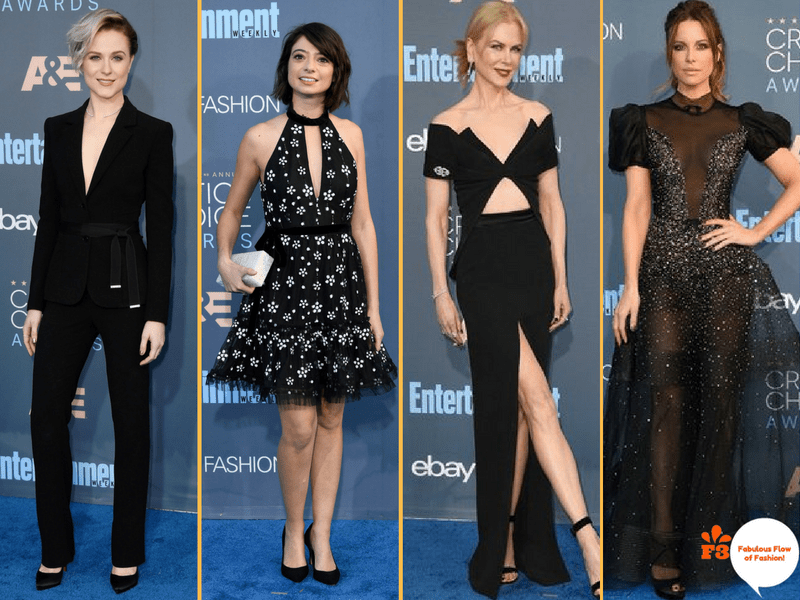 Black Shines In The Critics Choice Awards, 2016 | Fabulous Flow Of Fashion