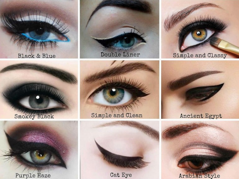 Different Eyeliner Styles To Get Beautiful Eyes! | Fabulous Flow Of Fashion